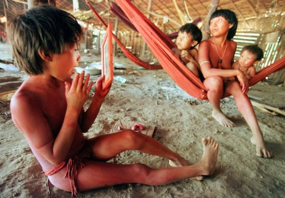 Virus 'out of control' among Brazil's Yanomami people