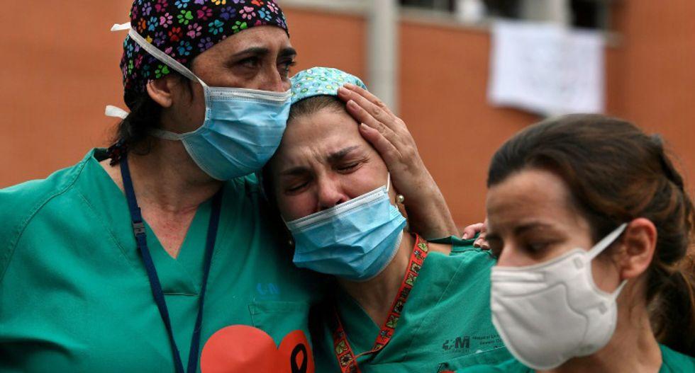 Struggle, fear and heartbreak for medical staff on coronavirus frontlines