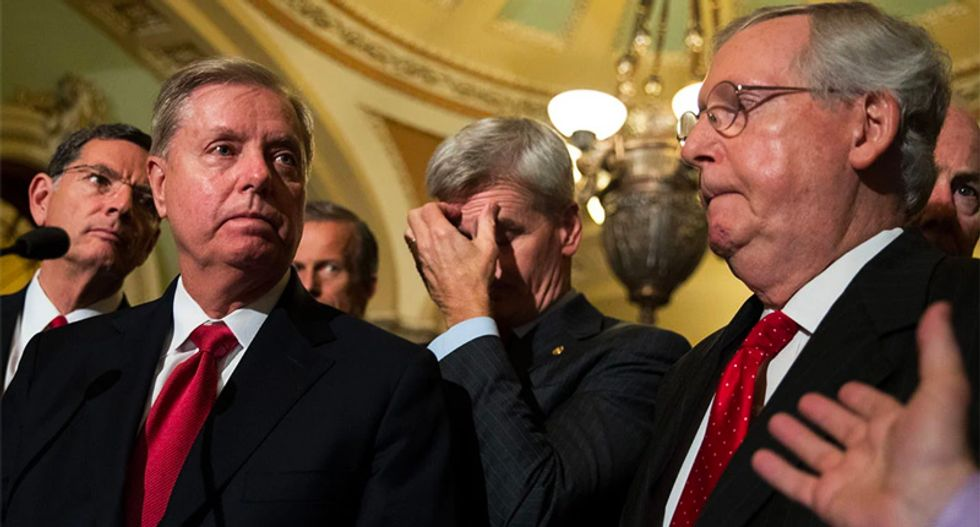 GOP lawmakers dismayed as pandemic shutdown keeps them from pushing through Trump's judicial appointments: report