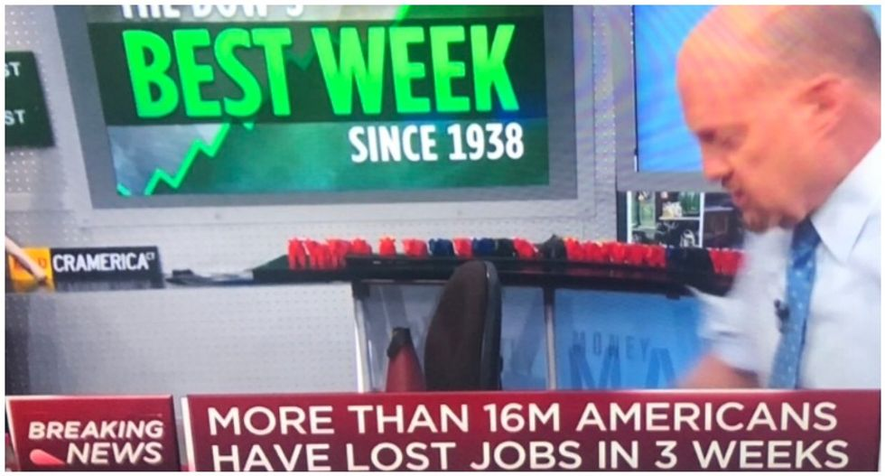 Viral screenshot of Jim Cramer's 'Mad Money' shows 'everything that's wrong with America'