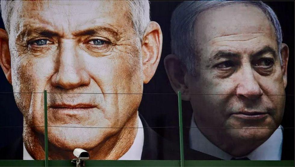 Israel's Netanyahu, Gantz agree on emergency unity govt