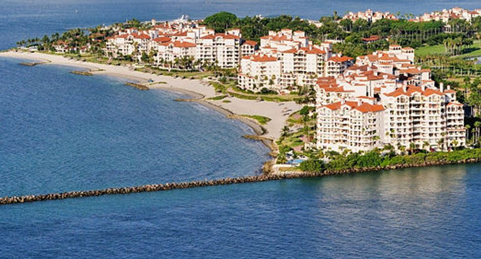 Everyone on this super-rich Florida island gets tested for coronavirus — even the staff