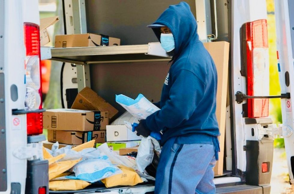 'A conspiracy': Alarms sound after postal worker reports removal of sorting machines