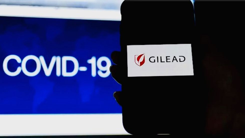 Gilead shares surge on promising COVID-19 drug report