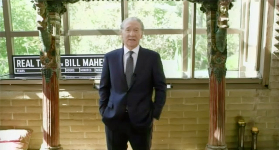 Bill Maher says Trump didn't need to put his name on stimulus checks as we'll know who it's from when it bounces