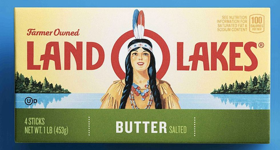 Land 'O Lakes removes Native American woman from its container after nearly 100 years