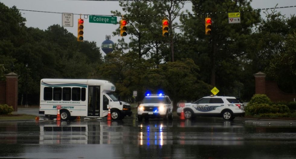 Rescuers scramble as Hurricane Florence smashes into US East Coast