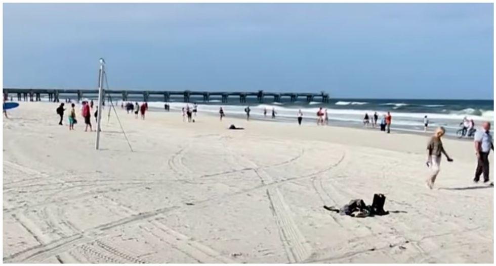 Officials baffled at Florida's reopening of beaches: 'So dumb I had to make sure it wasn't fake news'