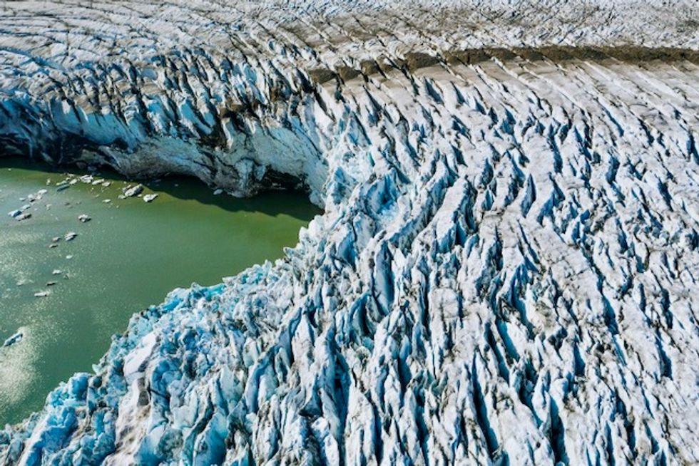 Eurasian ice sheet collapse raised seas eight meters: study