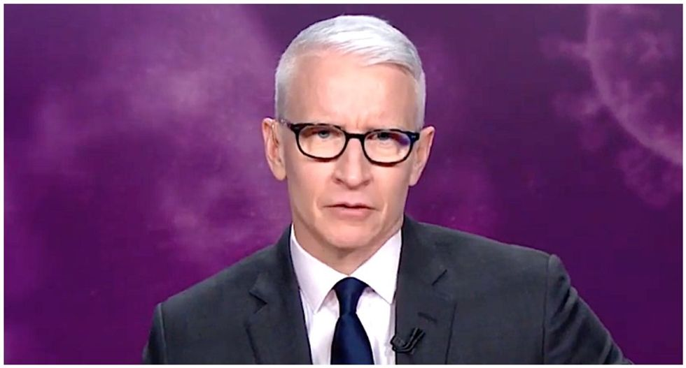 Anderson Cooper slams 'Soviet-style' propaganda from Trump's press secretary on bleach comments