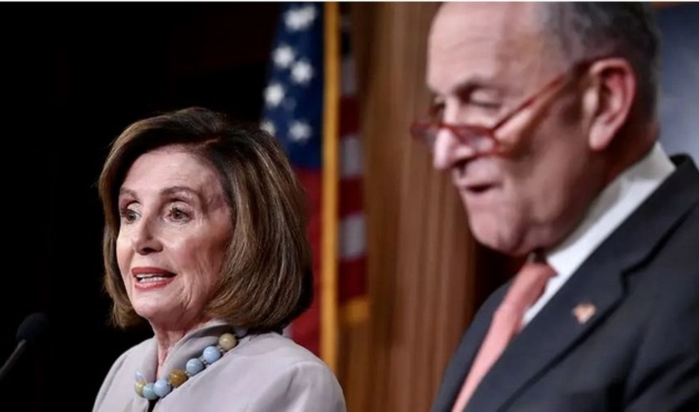 'Democrats cave': Senate interim funding bill for coronavirus relief spurns progressive priorities