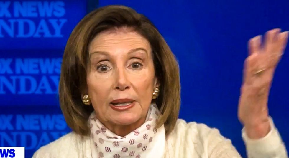 'He's a weak leader': Nancy Pelosi forces Fox News viewers to hear truth about Trump 'mistakes'