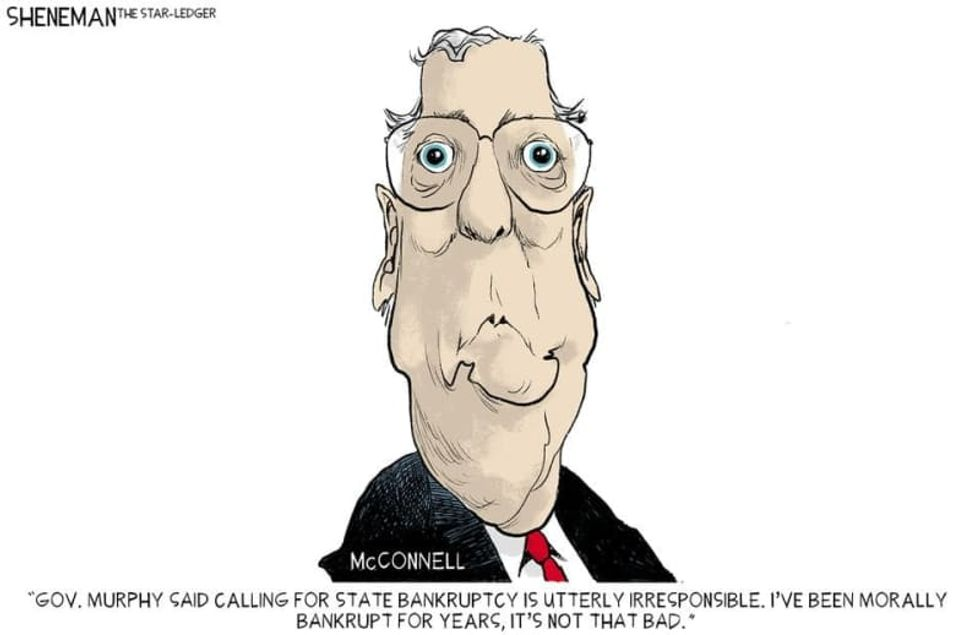 Mitch McConnell just wants to watch it all burn