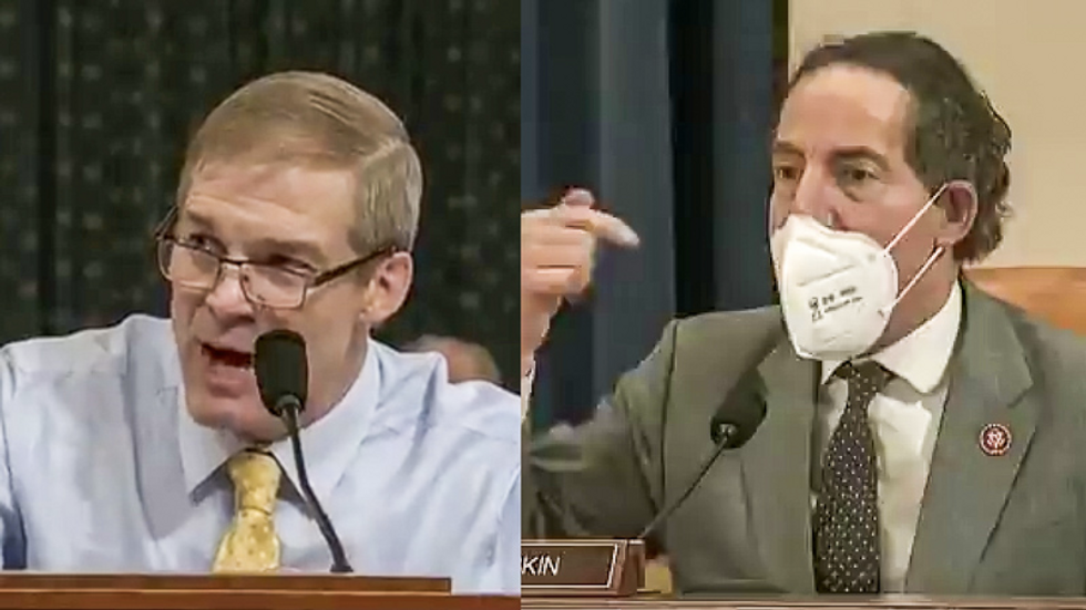 Democratic lawmaker blows up at Jim Jordan for trying to derail coronavirus investigation