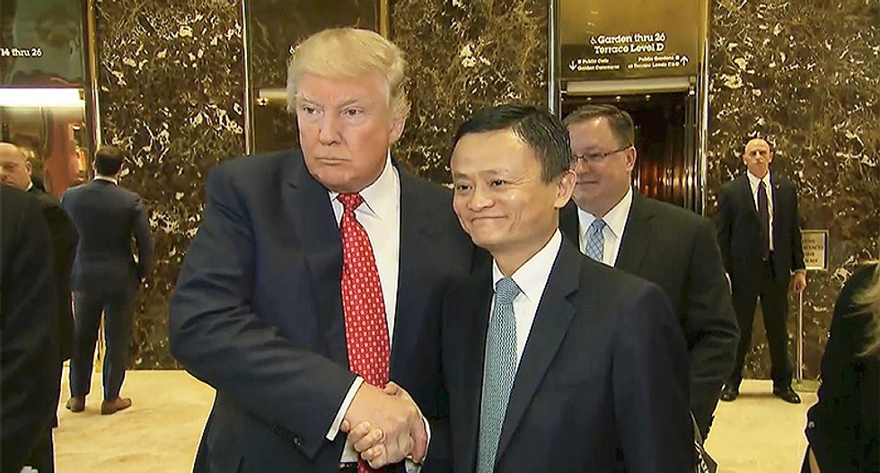 Alibaba's Jack Ma says US-China trade war is 'most stupid thing in this world'