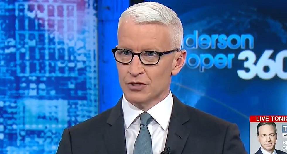 'He's the eye of the hurricane': Anderson Cooper says Trump may be completely oblivious to his own chaos