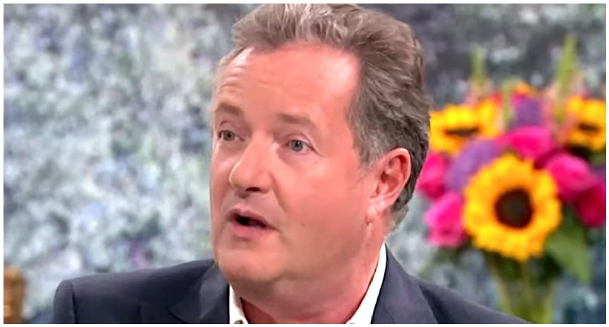 'I'm done with this!' Piers Morgan storms off set after co-host calls him out for 'trashing' Meghan Markle