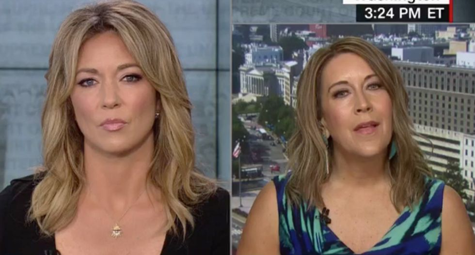 Democratic strategist clashes with conservative guest on CNN over 'fairness' for Brett Kavanaugh