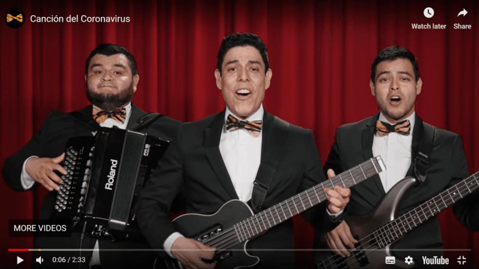 A selection of Latin American and Caribbean 'coronavirus songs'