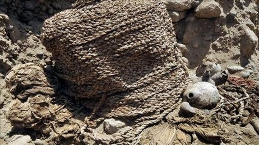Two 1,000-year-old mummies found in ancient Peruvian cemetery