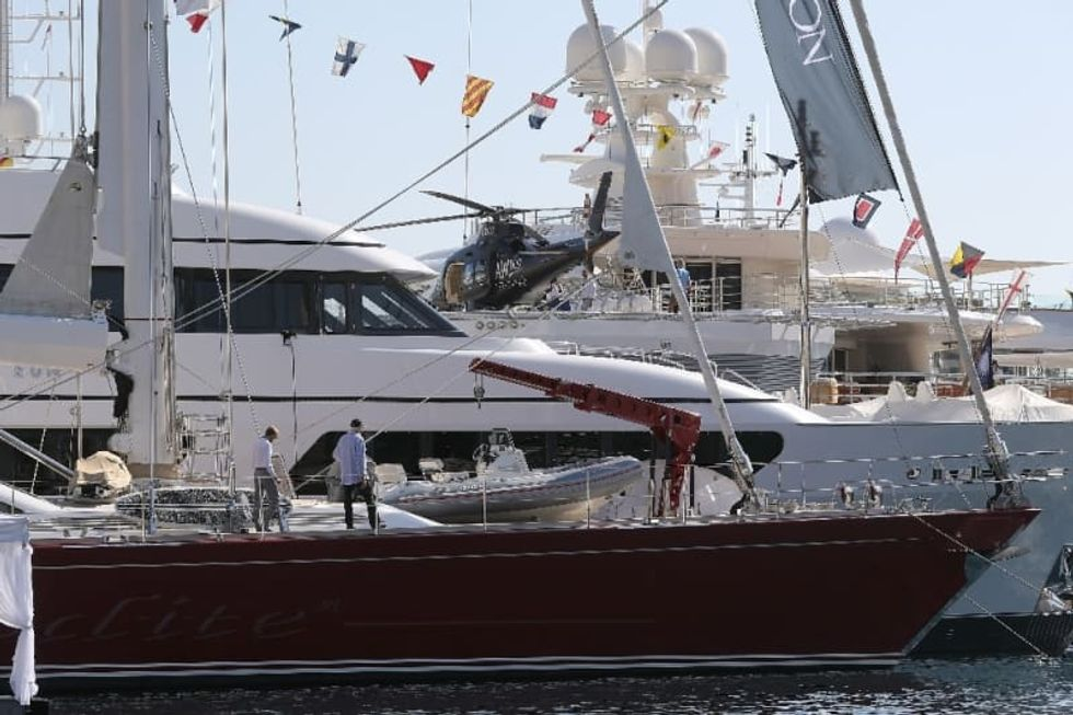 Yachts, wine cellars, private jets: Isolating with the super-rich