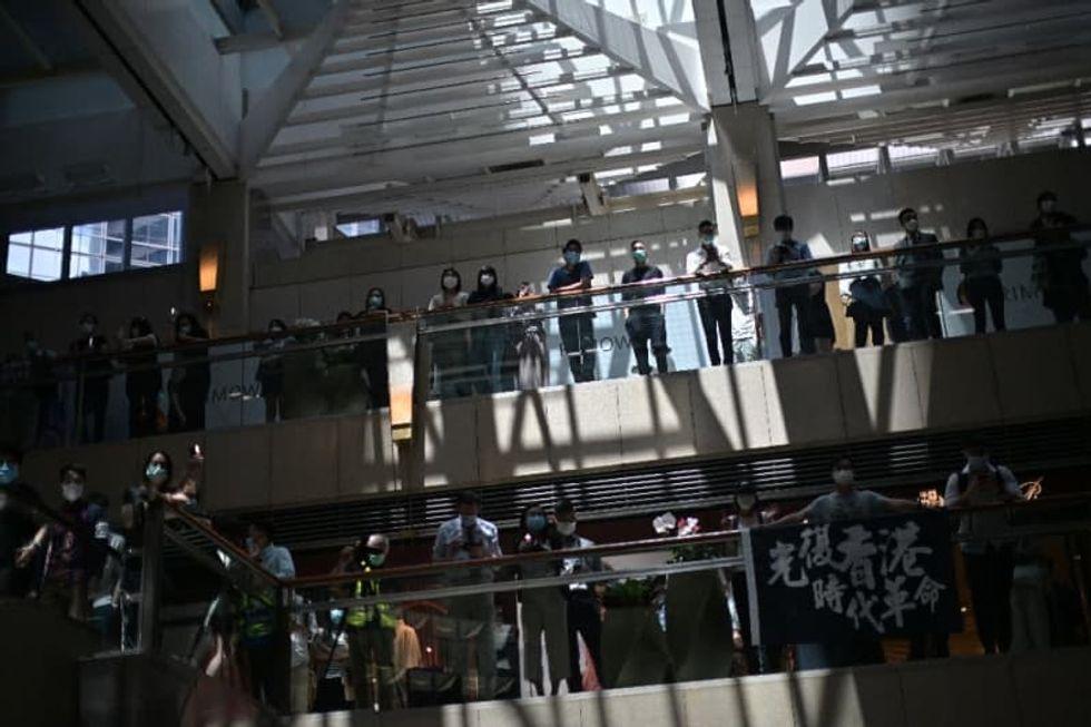 Police on alert in Hong Kong ahead of planned democracy rallies