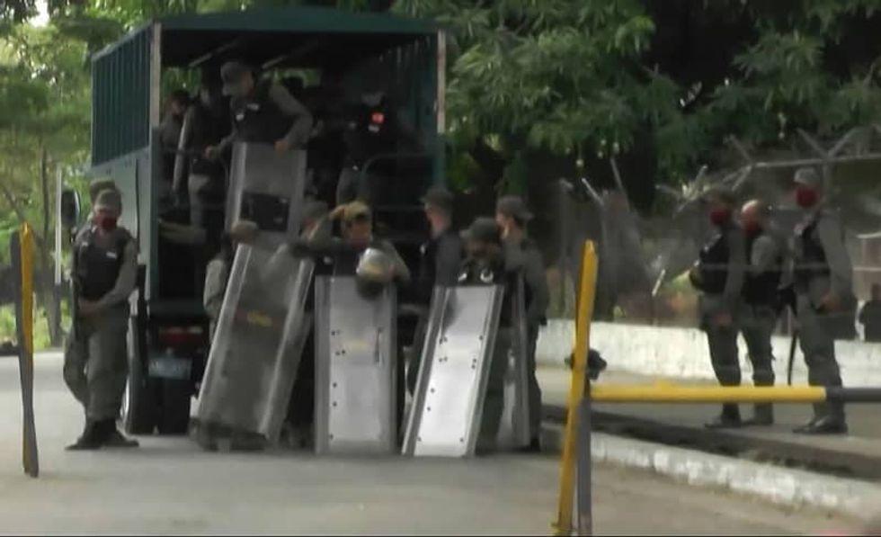 Venezuela prison riot leaves 47 dead, 75 wounded