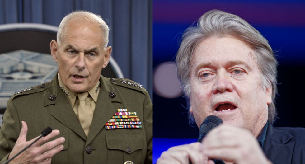 John Kelly now in 'Bannon territory' after infuriating the president with Fox News interview: source