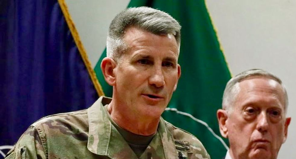 Trump, frustrated by Afghan war, suggests firing US commander: officials