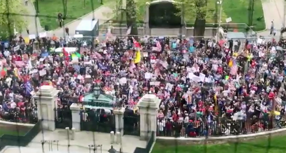 Anti-lockdown protests are imploding — because the Koch network has soured on them: Columnist