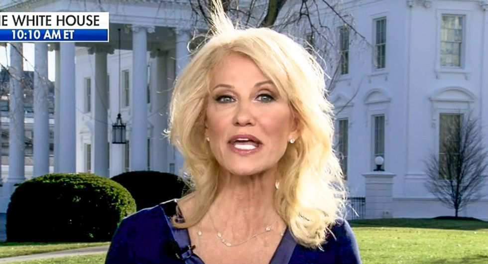 'This is COVID-19, not COVID-1!' Kellyanne Conway uncorks scientifically illiterate rant against WHO on Fox & Friends