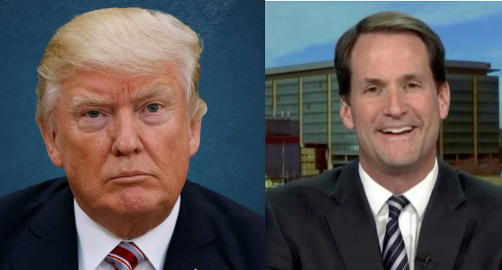 Democrat Jim Himes mocks GOP for failure to stand up to 'unpredictable, random angry president'