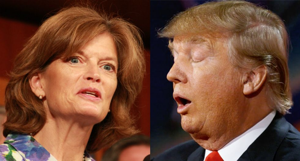 Trump fans rage at 'traitor' Lisa Murkowski for refusal to vote on Ginsburg replacement before the election