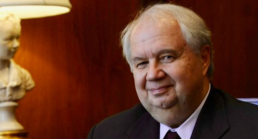 Russia's Kislyak: talks with Trump's ex-security aide 'absolutely transparent'