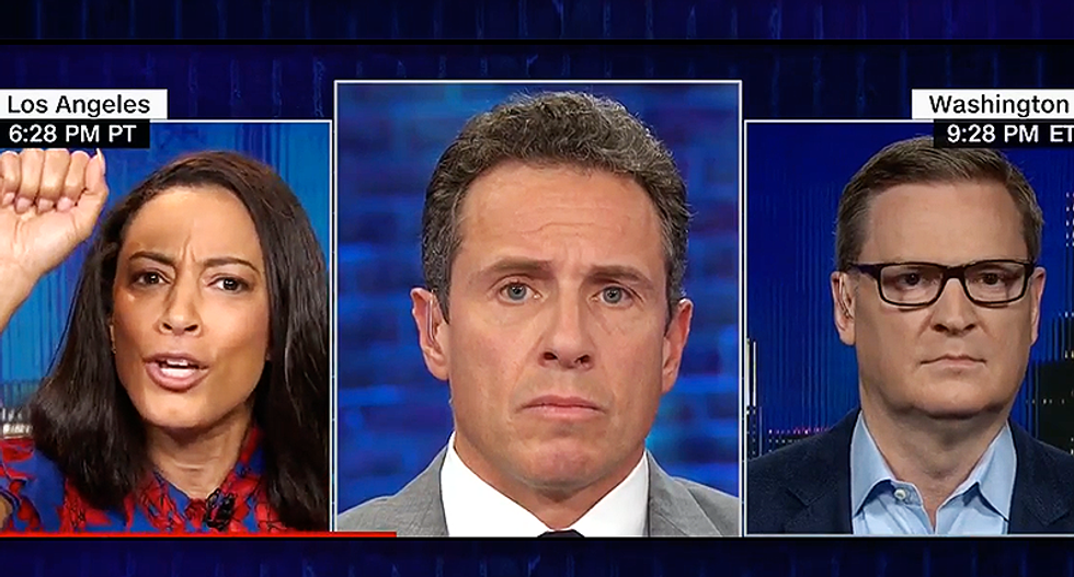 CNN's Angela Rye nails Republican Trump apologist after he suggests women's rights are 'militant'