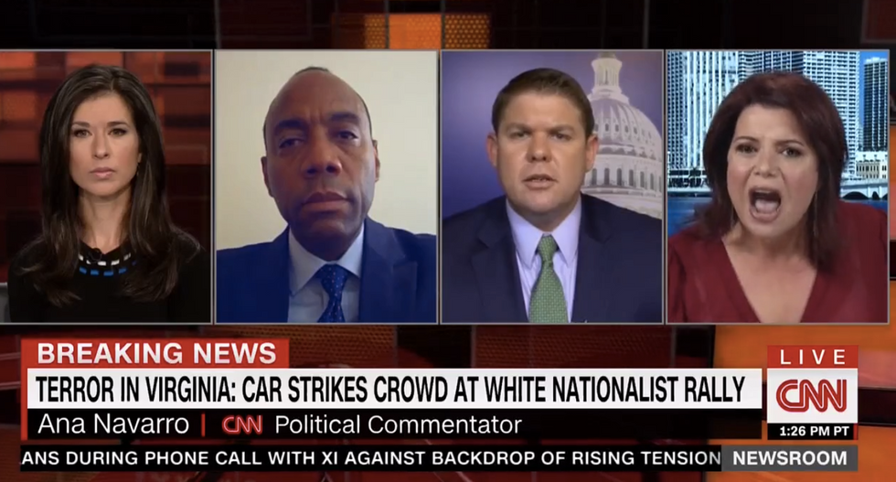 Ana Navarro detonates on Trump: 'He doesn't have the spine or the guts to call out white supremacists'