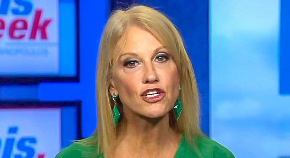 Kellyanne Conway begins assault on reproductive rights: Women can get abortions 'with absolutely no common sense'