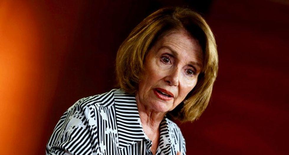 US House Democratic leader Pelosi calls for Confederate statue removal