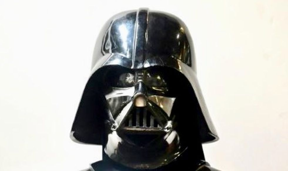 Darth Vader helmet among Hollywood treasures in $10 million auction