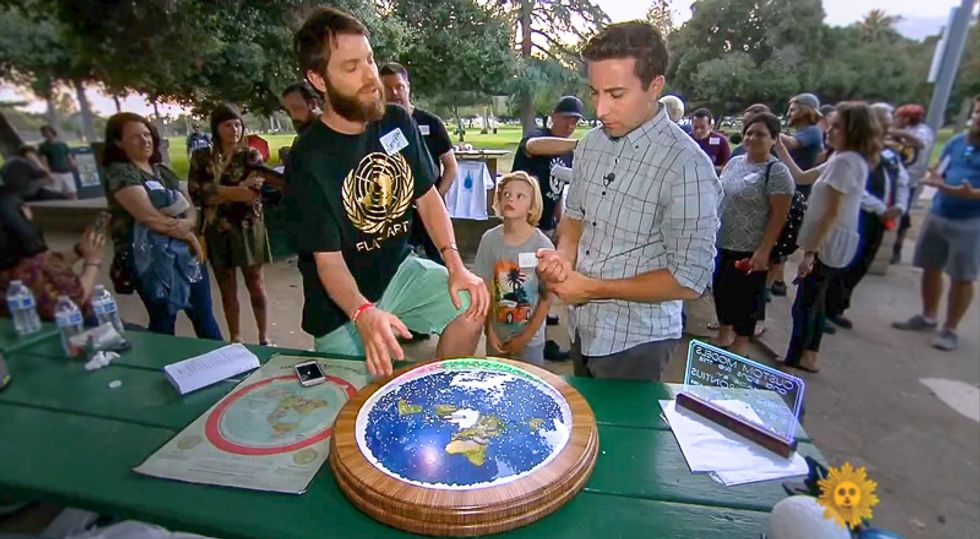 CBS sees surge in US Flat Earthers who say there's no rover on Mars: 'Most people think we're idiots'