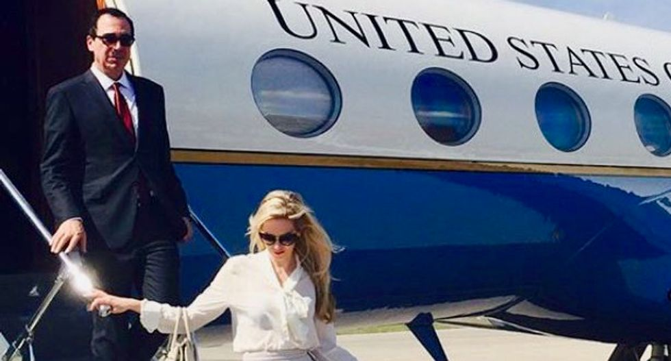 Mnuchin being investigated for taking government plane to watch solar eclipse at Fort Knox