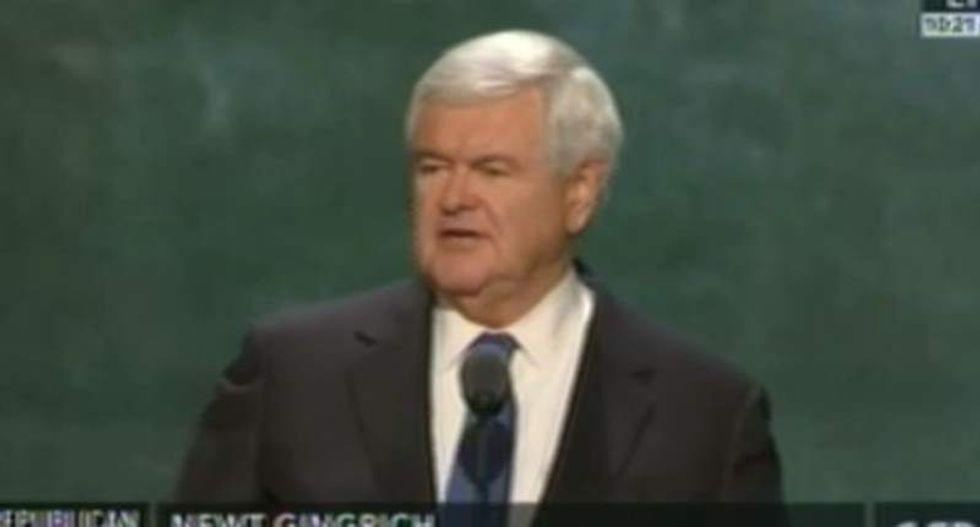 Gingrich RNC speech originally referenced Cruz endorsement of Trump: report