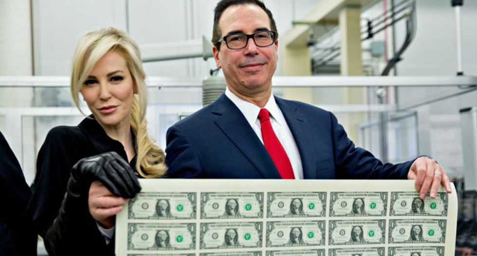 'Stinking rich' Steve Mnuchin should be fined $25K a day until he hands over Trump's taxes: Dem lawmaker
