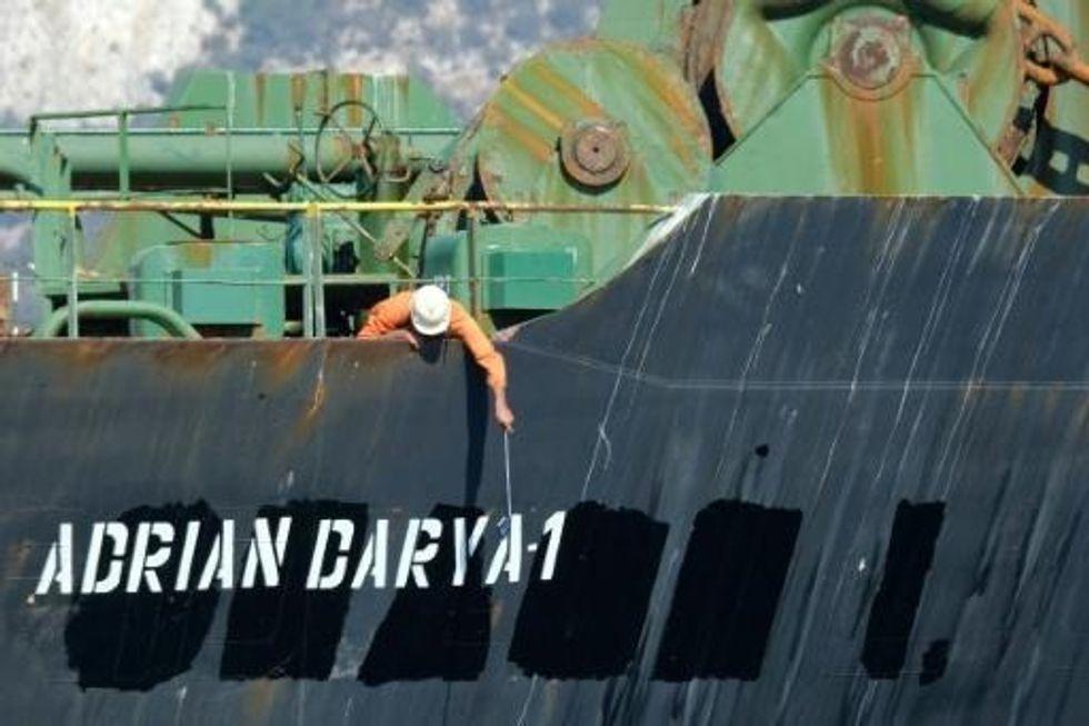 US blacklists Iranian tanker in Mediterranean