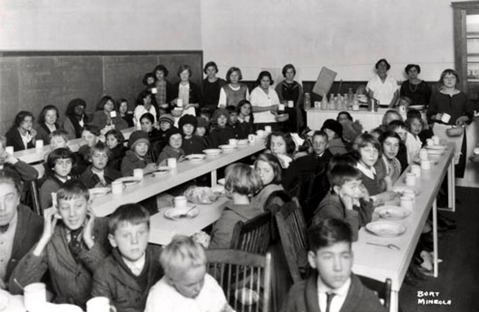 We've known since the 1940s that kids don't do well in school when they're hungry