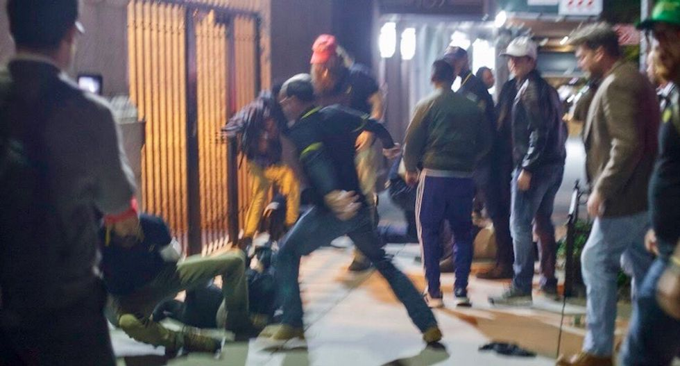 More Proud Boys charged for Manhattan riot -- including secret unnamed indictments