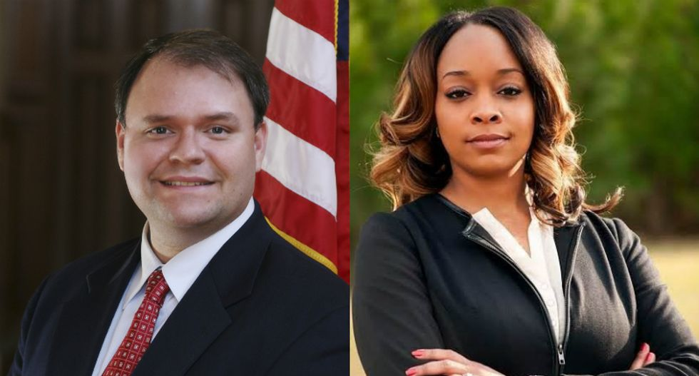 Georgia GOPer warns black attorney she 'may go missing' if she tries to remove Confederate monument