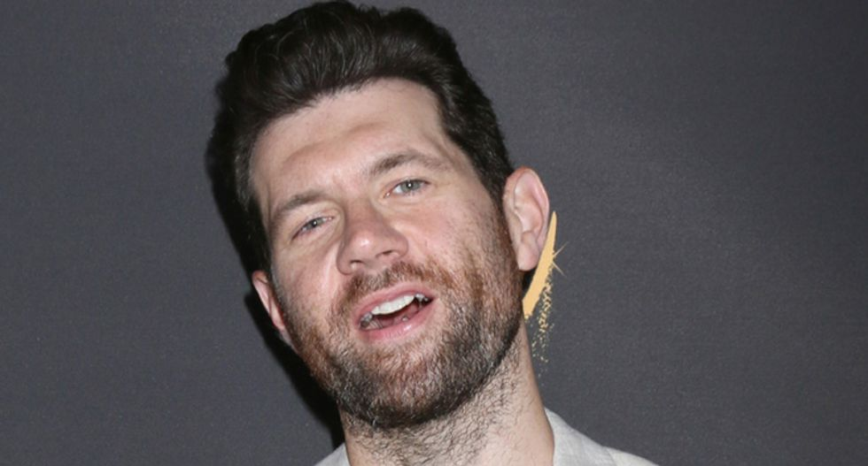 WATCH: Comedian Billy Eichner gets asked about Trump – and explodes in an profanity-filled rant