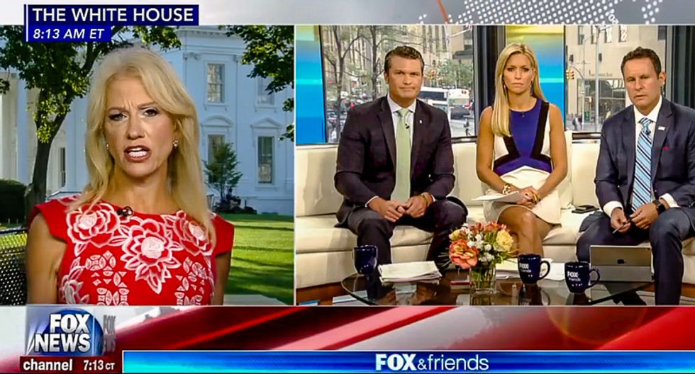 Kellyanne Conway: Sexist attack on Melania's shoes is really about Donald Trump and the awesome job he's doing