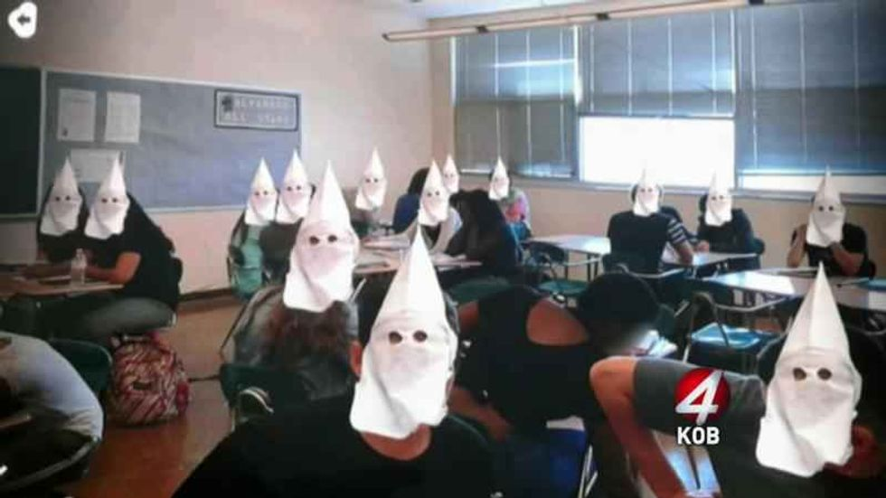 Racist high school bullies suspended after harassing black classmate with shocking Snapchat photo